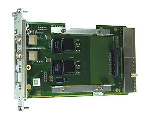 F606 – 3U CompactPCI® Side Card Gb Ethernet